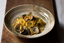 Clam Linguini, Artichoke, Flat Leaf Parsley, Garlic and Toasted Crumbs
